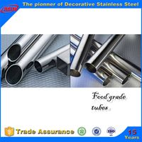 300 series stainless steel food grade tube for liquid transportation thumbnail image