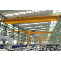 Workshop Heavy Duty Double Girder Overhead Bridge Crane Price