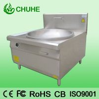 Electric induction cooker with large capacity