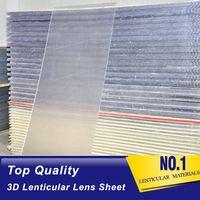 16 lpi 6mm 3d lenticular board depth 3d effect lenticular grating lens