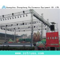 lighting aluminum performance exhibition screw truss(300mm*300mm)
