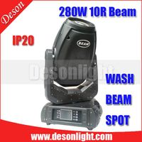 New arrival 280W 10R moving head beam stage light M-280 thumbnail image