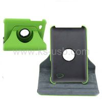 360 Degree Rotatable Leather Case with Holder for Samsung P6200 (KTPC-0615) thumbnail image