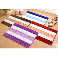 HuiJu New Products 2017 Innovative Product Custom Size Waterproof Floor Bath Mat