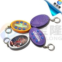 6 buttons talking keychain