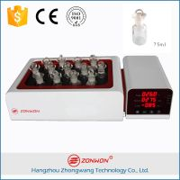 ZONWON Laboratory Instrument P12 Dissolution Apparatus High Precision Automatic Magnetic Stirrer