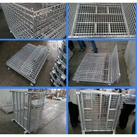 Collapsible steel stillages