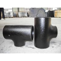 carbon steel pipe tee equal and reducing tee