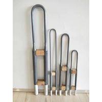 High temperature 1700C 1800C U W shape Molybdenum Disilicide MoSi2 rod heater heating element thumbnail image