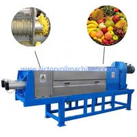 Factory supply vegetable screw press fruit solid-liquid separator machine thumbnail image