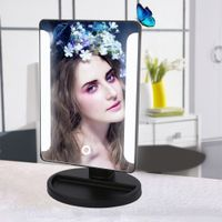 Rectangle Cosmetic Mirror 36 Led Travel Makeup Mirror with Smart Touch Sensor Button Dimmable thumbnail image