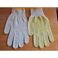 colored PVC Dotted Cotton Gloves,/Hand Gloves thumbnail image