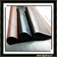 Dongguan Yuhua high quality embossed pu microfiber leather  wholesale  for leather sofa upholstery   thumbnail image