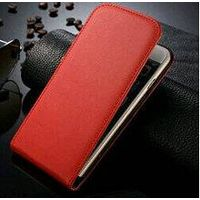 genuine leather flip case