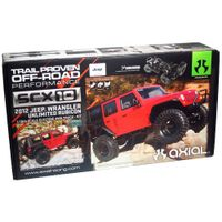 AX90027 Axial SCX10 2012 Jeep Wrangler Rubicon 1/10 4WD Kit