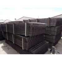 A60 / A65 / A70 / A76 / A82 / A90 / A120 ribbed reinforced mesh Galvanized Low Carbon Steel Wire