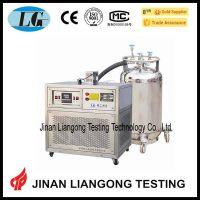 impact testing low temperature chamber tank