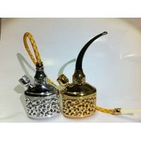 rich flowers dual water smoking pipe hookah