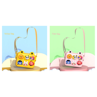 RoHs Certificate Yellow and Pink Girls Fashion Bag ,EVA Material Kids Backpack thumbnail image