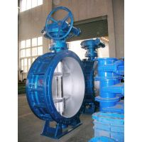 Three eccentric double flange butterfly valve thumbnail image