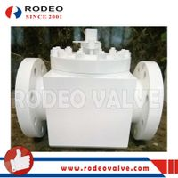 Flanged TOP-ENTRY Forged steel ball valve thumbnail image