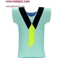 neoprene T shirt can cooler ,your designs cooler bag
