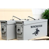 Metal Ammo can 50 Cal M2A1