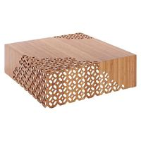 Solid bamboo with carving pattern Lace Coffee Table thumbnail image