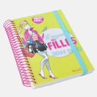 China best selling hardcover Y-O bound diary book printing factory