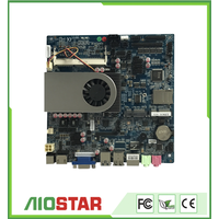 Mini ITX industrial motherboard with VGA LVDS HDM display and Intel i3 i5 i7 CPU