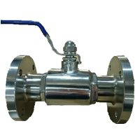 Stainless Steel Sanitary Flanged type Ball Valve thumbnail image