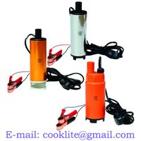 Mini Submersible Fuel Pump for Pumping Diesel Oil Water 12V 24V DC Electric Fuel Transfer PumpYUNF thumbnail image