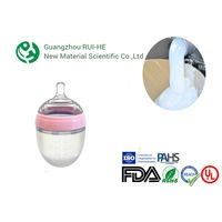 High Transparent Food Grade Liquid Silicone Rubber For Baby Nipple / Bottle thumbnail image