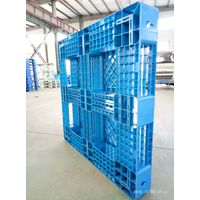 11001100mm open deck six runners HDPE recycle plastic pallet thumbnail image