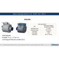 Rawsuns high torque 130kW electric motor 1000Nm ev conversion kit + controller for 6m bus 4.5T light