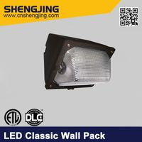 DLC ETL Listed LED Wall Pack for Outdoor Using