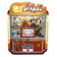 Crazy Basketball Similator Game Doll Prize Vending Machine