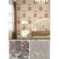 China TOP Wallpaper Factory 2020 Hot Sale 106cm PVC Floral Wallpaper Vintage Floral Wallcovering