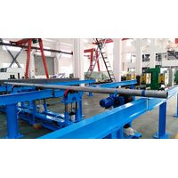 Pipe feeder for hardbanding machine