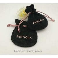 round velvet jewelry pouch thumbnail image