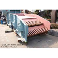 USED FURUKAWA 1500MM X 3600MM (5' X 12') VIBRATING GRIZZLY FEEDER S/NO. 300 thumbnail image