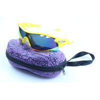 Sport Style EVA Sunglasses Cases with Crystle logo