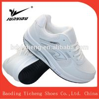 New arrival factory OEM multi color high help running cushion sport shoe white thumbnail image