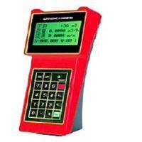 Hand-held ultrasonic flow meters flow measurement