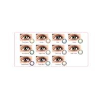 OEM Korean 85 Colors Contact Lenses FDA CE ISO 13485 thumbnail image