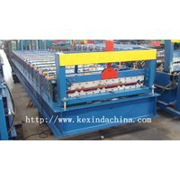 automatic colored steel tile machinery