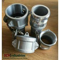 Aluminium camlock quick coupling