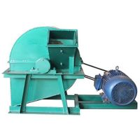 BH 80 wood chipper driven by electricity motor with product dia less than 2mm