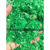 Good Quality Of Pet Flakes Green Hot Washed