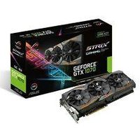 3-YRS WARRANTY GEFORCE GTX 1070 8GB STRIX ASUS ROG OC EDITION GRAPHICS CARDS GEFORCE